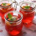 紅い宝石♡フルーツゼリー☆いちじくのコンポート 煮汁リメイク by ひなちゅんさん