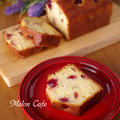 アメリカンチェリーでつくる、簡単しっとり甘いチェリーパウンド☆めろんカフェ流こだわりケーキ by めろんぱんママさん