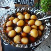 白玉粉レシピ色々~♪と、冷やしみたらし団子初めました❤️豆腐白玉で冷やしてももっちもち♪
