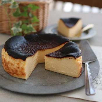 バスクチーズケーキ2種。( ※レシピあり )