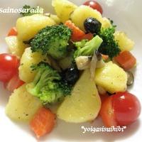 温野菜のサラダ 中華バター風味