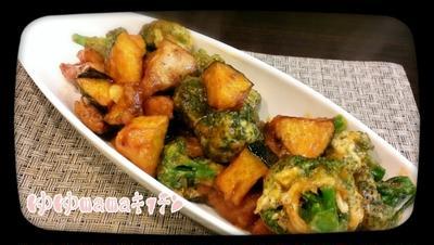 ほど塩レシピ♪ゴロゴロ野菜と豚のウマウマ揚げ炒め