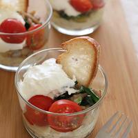 【簡単レシピ】クリームポテト・ほうれん草とベーコンのチーズソース