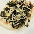 乾物イタリアン☆海苔と煮干しのピッツア