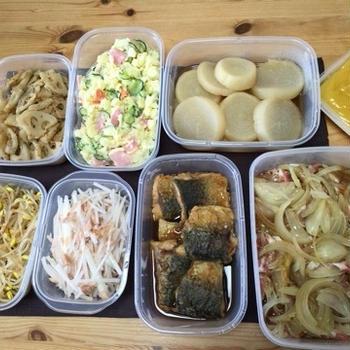 今週の作り置きおかず〜野菜たっぷり〜和食中心メニュー