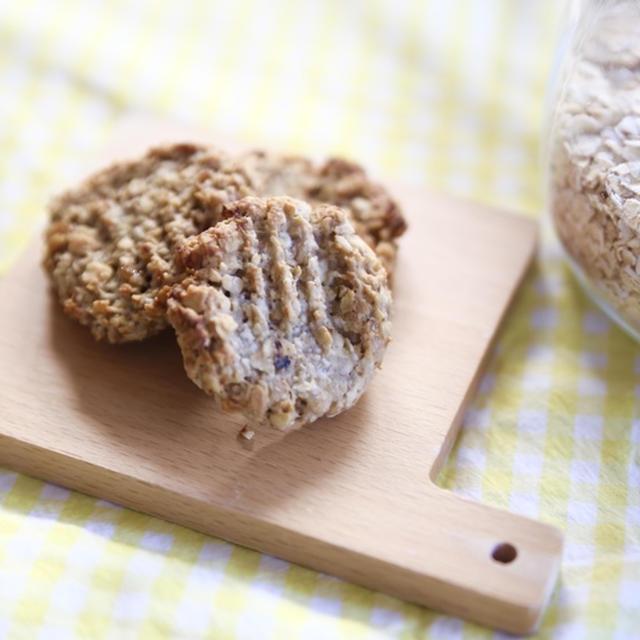 【簡単!砂糖なし】子どもが1人で作れるオートミールクッキー