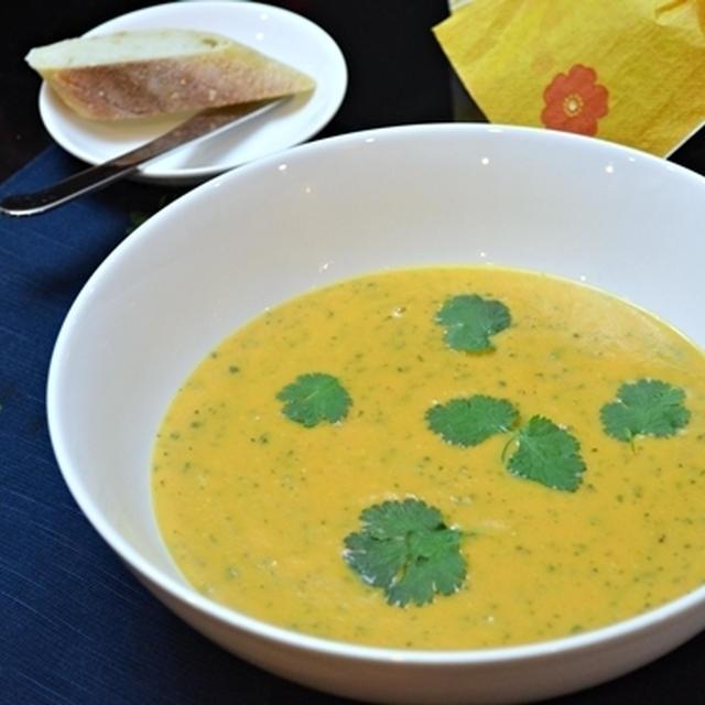 キャロットスープ with オレンジ&コリアンダー