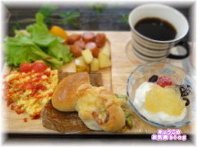 カフェ風★パンプレートランチ