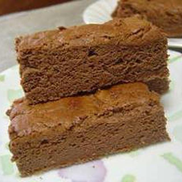 板チョコで作る簡単チョコケーキ