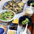 ◆頂き物の牡蠣でおうちごはん♪~ゆるやか糖質制限♪ by fellowさん