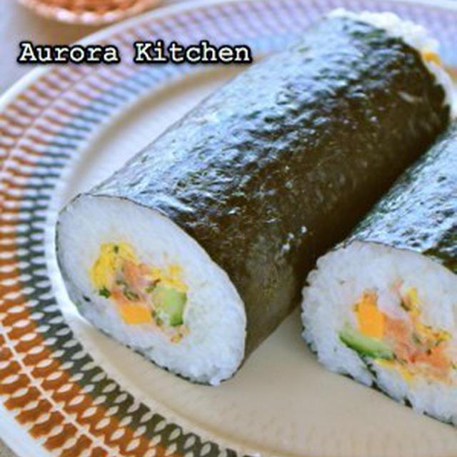 『香りサーモンタルタルの恵方巻き』**と、お寿司レシピいろいろ〜♪