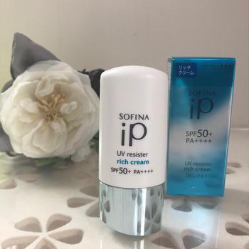 SOFINA iPから UV美容液誕生。リッチクリーム