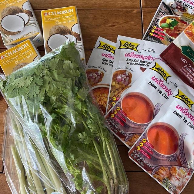 7月オーガニック野菜付きタイ料理レッスンの内容が決まってきました♪