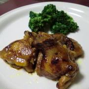 鶏のカレー焼き