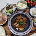 サバの味噌煮で始まる夕ご飯