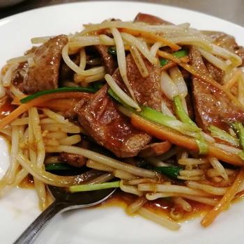 こんな時間なのに中華が食べたくなる( ;∀;)