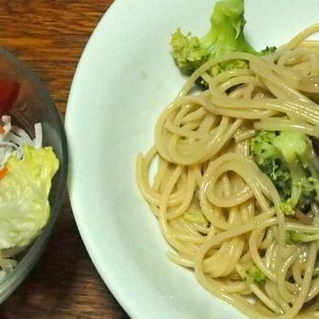 ブロッコリーとアンチョビのスパゲティ