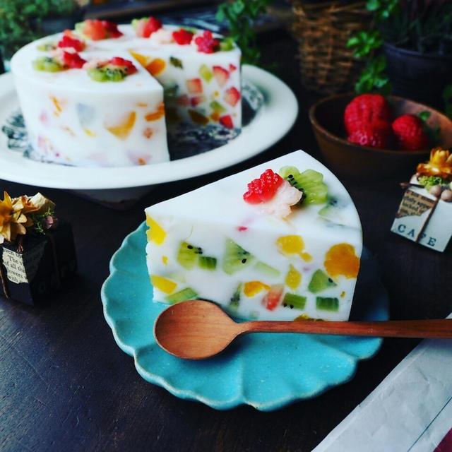 ご質問にお答え❤️と、ひな祭りにもおすすめな寒天ケーキ色々~♪