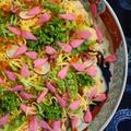 桜と春野菜のちらし寿司
