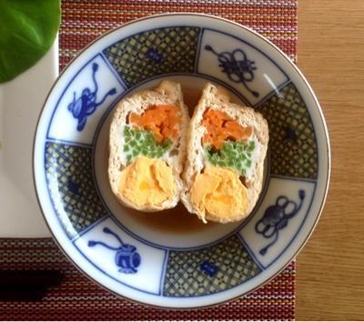 おもてなし副菜☆巾着の彩り煮物