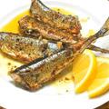 フライパンで簡単!ワインに合う秋のおかず〜秋刀魚のガーリック&オニオン焼き。 by akkiさん