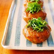蓮根つくねの甘酢にんにく照り焼き♪簡単おいしい秋の味覚レシピ!ポタージュスープレシピ