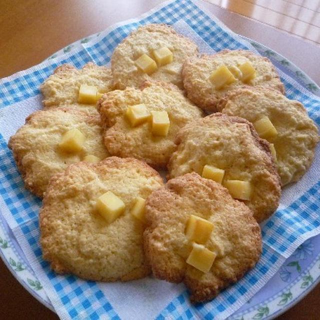 チーズドロップクッキー♪