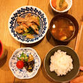 【甘酢っぱウマ♡ナスの南蛮漬け】とシャキシャキ肉野菜炒め