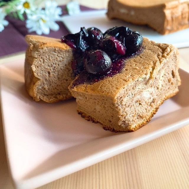 【糖質制限スイーツ】材料4つ&卵焼き器で簡単!低糖質&低脂質なふわふわチョコレートケーキ