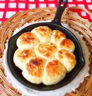 スキレットで簡単♪♪ちぎりパン