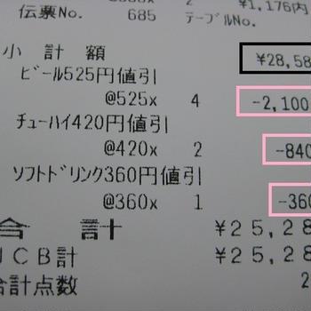 3,300円のお得
