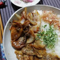 肉日29日!BKP甘辛豚ニャンコ飯!