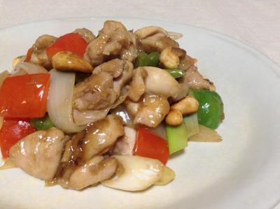 色どり鮮やか☆鶏肉のカシューナッツ炒め