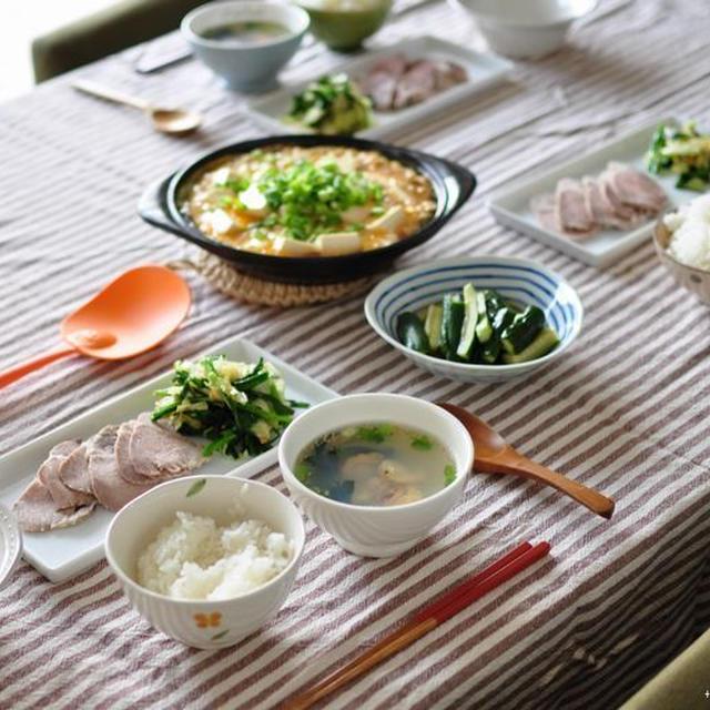 母ちゃん鍋でレンジ塩豚と絹ごし豆腐の卵とじ、それからプレゼンに強くなろう