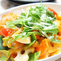 ◆目指せデリ風◆彩り野菜の揚げない黒酢酢豚【とろ実モニター】