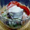 【レシピ】さつま芋と生ハムのヨーグルトマヨサラダ by ☆s4☆さん