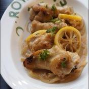 鶏手羽のはちみつレモン煮