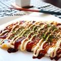 余った切り餅で超簡単おつまみ♪お餅でお好み焼き風 by たっきーママ(奥田和美)さん