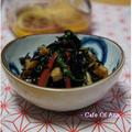 フルブラで常備菜2種