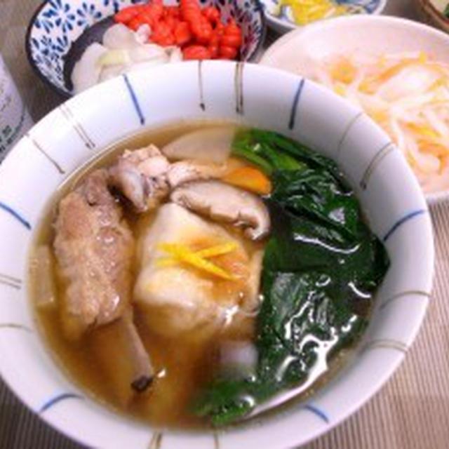 鶏ガラ極め出汁の雑煮