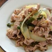 豚肉の香り大葉炒め。(切り落とし肉で夏の炒め物)と小さな作り置きのごはんの日。