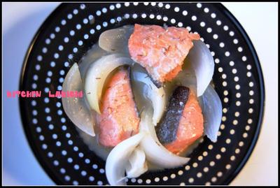 鮭と玉ねぎの味噌煮☆&嬉しい頂き物色々♪&かわいいクリップ