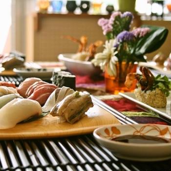 寿司を握って寿司三昧