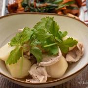 里芋と豚肉のあっさり煮|薄味を好むお年頃