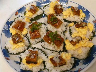 うなぎの海苔カップ寿司