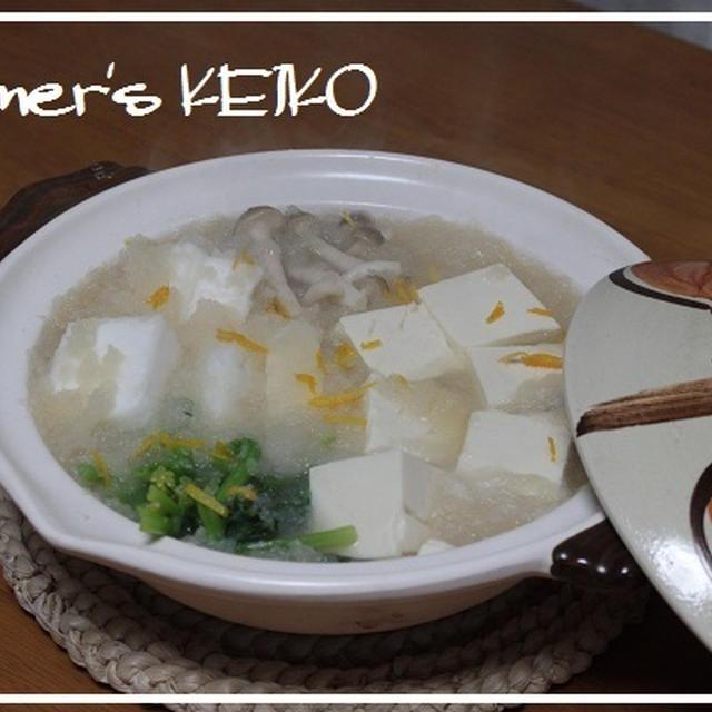 クックパッドニュースに「みぞれ湯豆腐」が掲載されました