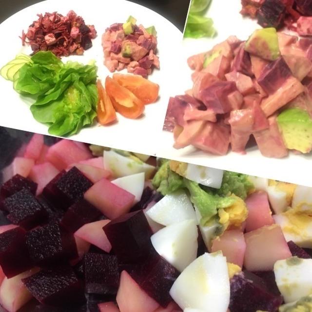 マヨネーズベース☆ビーツのサラダ2