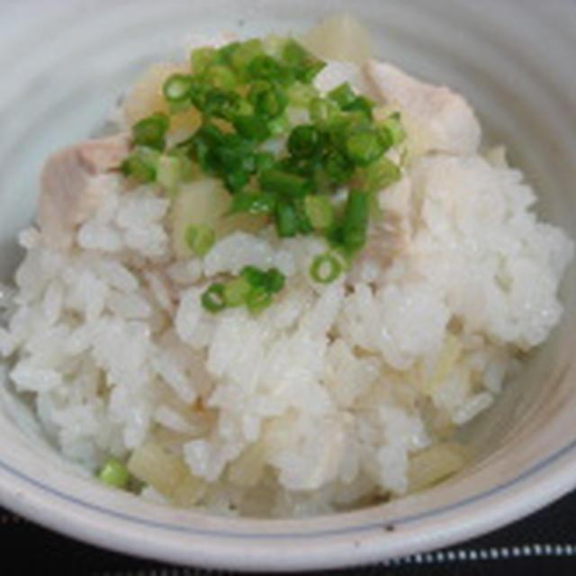 新生姜と豚肉のさっぱり炊きこみ飯!