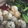 風邪予防&ヘルシー!葱生姜つくね鍋