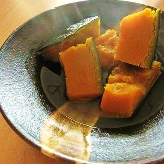 【レシピ】1番だしのお吸い物 & 2番だしのかぼちゃの煮物
